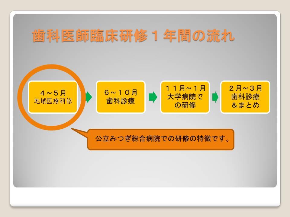 歯科臨床研修医内容2